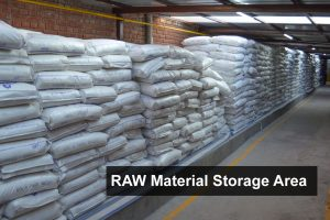 RAD Global Private Limited - Raw Material Storage Area